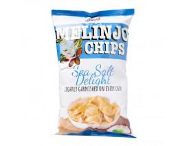 Little Keefy Melinjo Chips Sea Salt Flavour - Case