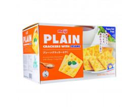 Meiji Plain Crackers Sesame- Case