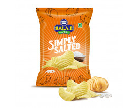 Balaji Wafers Simply Salted Potato Chips - Case
