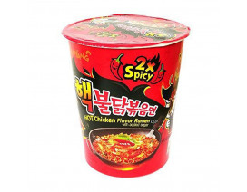 Samyang Hot Chicken 2x Spicy Cup Ramen - Case