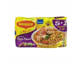 Maggi Mee Tom Yam Curry (5+1) - Case