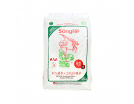 SongHe Mixed Fragrant Rice + Noble Red Rice - Case