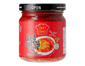 Chef's Choice Red Curry Paste - Case