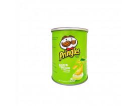 Pringles Potato Crisps Sour Cream - Case