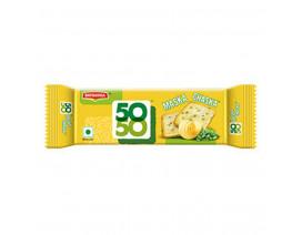 Britannia 50-50 Maska Chaska Biscuit Crackers - Case