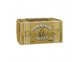 Golden Churn Foil Wrapped Butter Salted - Case