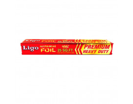 Ligo Aluminium Foil 25 Square feet - Case