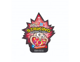 Little Keefy Strawberry Striking Popping Candy - Case
