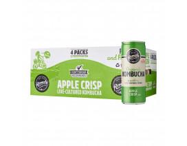Remedy Organic Kombucha Apple Crisp - Case