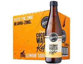 Remedy Organic Coconut Water Kefir Lemon Squash - Case