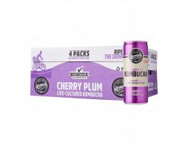Remedy Organic Kombucha Cherry Plum - Case