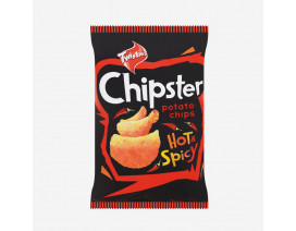 Twisties Chipster Hot & Spicy Potato Chips - Case