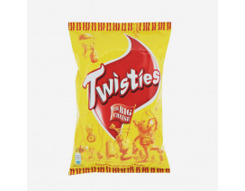 Twisties The Big Cheese Corn Snack - Case