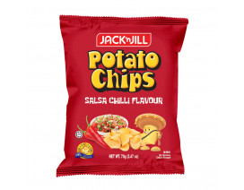 Jack 'n Jill Potato Chips Salsa Chili - Case