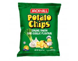 Jack 'n Jill Potato Chips Spring Onion & Garlic - Case
