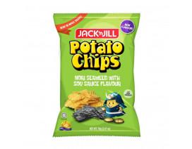 Jack 'n Jill Potato Chips Seaweed - Case