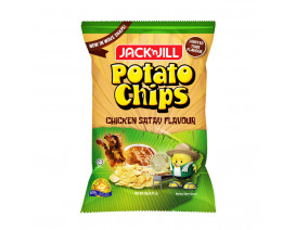 Jack 'n Jill Potato Chips Satay - Case