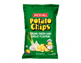 Jack 'n Jill Potato Chips Spring Onion & Garlic - Case