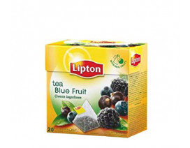 Lipton Black Tea Blue Fruit Premium Pyramid Tea - Case