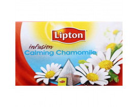 Lipton Pyramids Infusion Tea Bags Calming Chamomile - Case