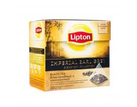 Lipton Pyramids Black Tea Bags Imperial Earl Grey - Case