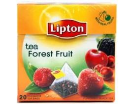 Lipton Pyramids Black Tea Bags Forest Fruit - Case