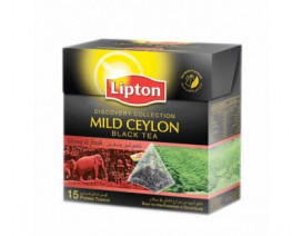 Lipton Mild Ceylon Black Tea - Case