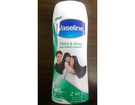 Vaseline Thick & Shiny Shampoo (India) - Case
