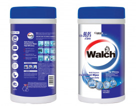 Walch Disinfectant Wipes high efficiency - Case