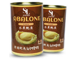 SL Foods Premium Halal Korean Canned Abalone in Brine - Case