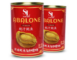 SL Foods Premium Halal Korean Canned Abalone in Sauce - Case
