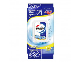 Walch Disinfectant Wipes Lemon - Case