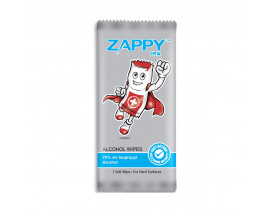 Zappy Alcohol 70% IPA Wipes 1s - Case