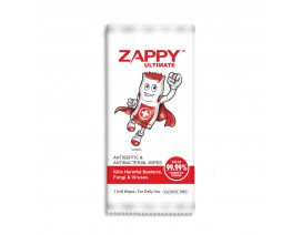 Zappy Ultimate Antiseptic Wipes 1s - Case