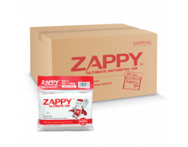 Zappy Ultimate Antiseptic Wipes 10R - Case
