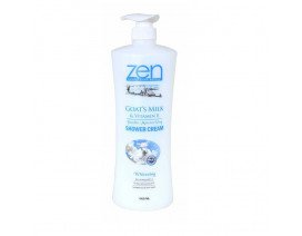 Zen Goat's Milk & Vitamin E Double Moisturising Whitening Shower Cream - Case