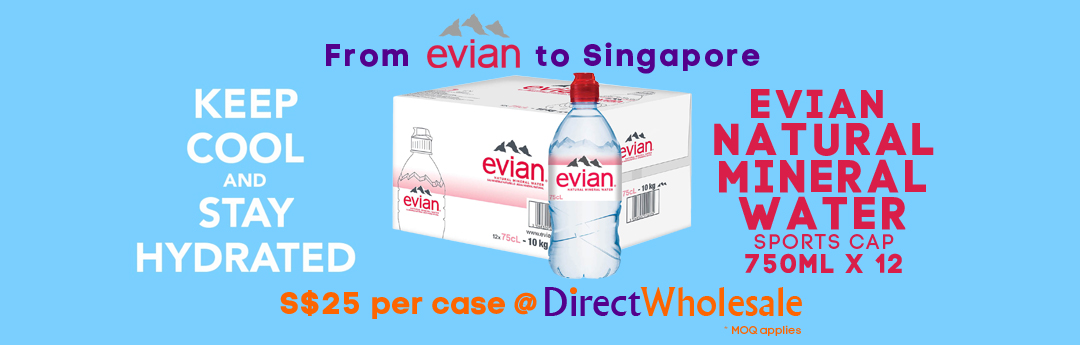 DW From Evian to Singapore