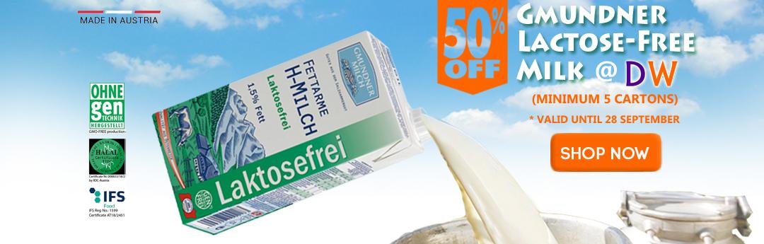 Gmundner Lactose-Free Milk