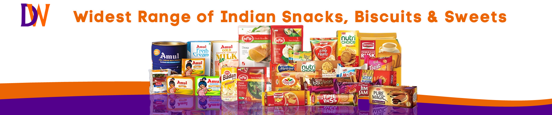 Indian Snacks, Biscuits & Sweets